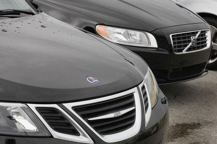 Koniec Saaba to koniec Volvo? /AFP