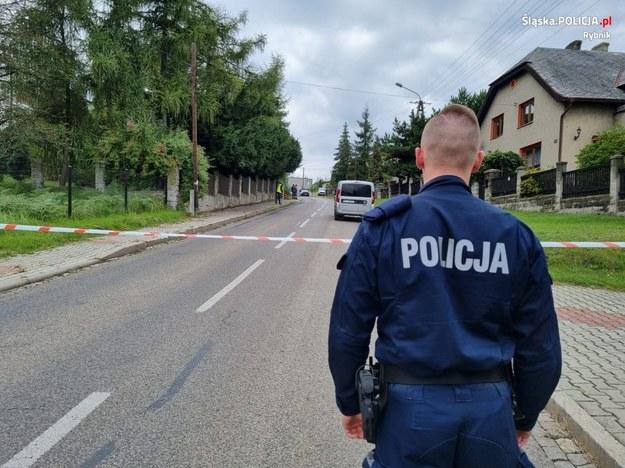 Konieczna była ewakuacja mieszkańców /Policja