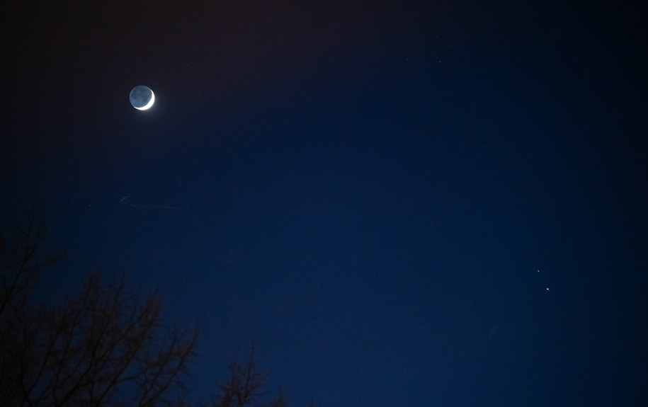 Koniunkcja Jowisza i Saturna /Joel Kowsky HANDOUT /PAP/EPA