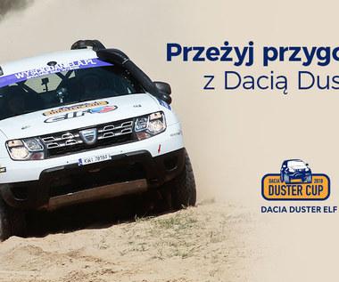 Konkurs Dacia Duster Elf Cup - poczuj smak przygody