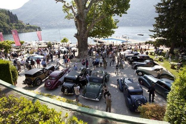 Konkurs elegancji na jeziorem Como /
