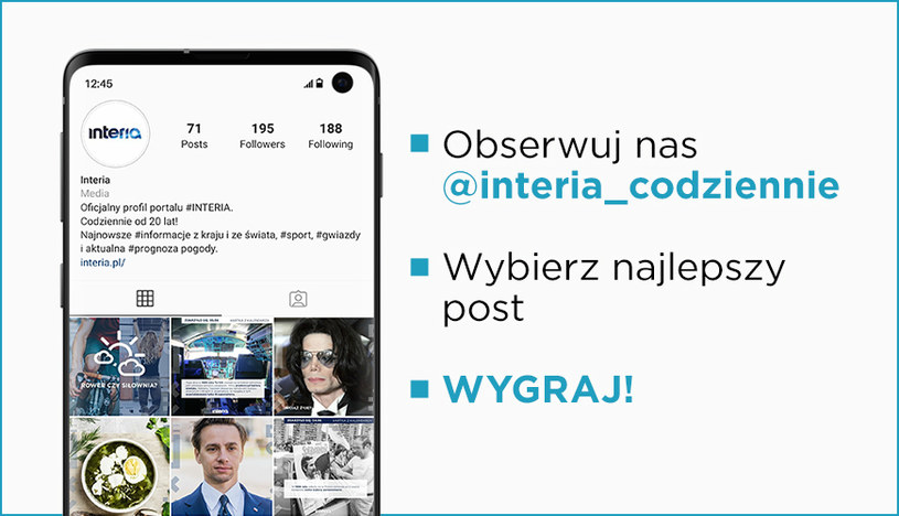 Konkurs Instagramowy /interia /INTERIA.PL