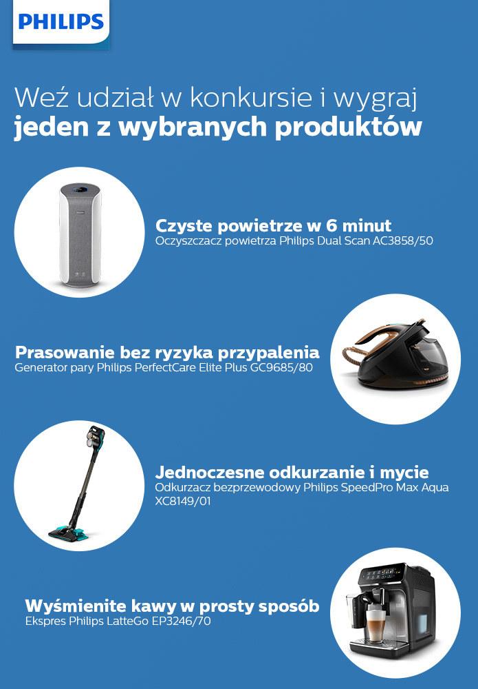 Konkurs Philips /materiały promocyjne
