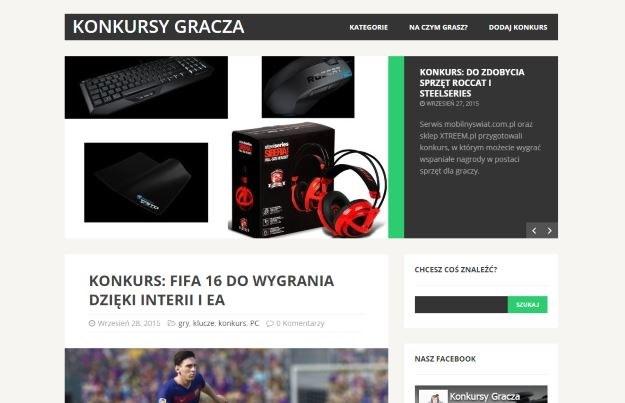 Konkursy Gracza /materiały prasowe