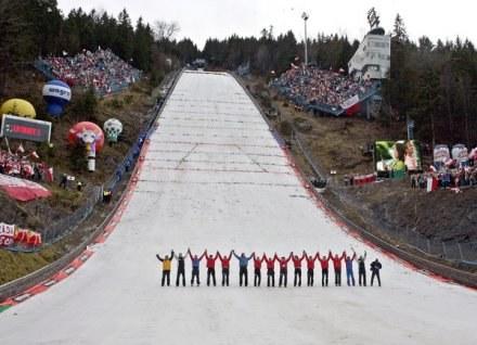 Konkursy PS w Zakopanem były zawsze atrakcyjnymi widowiskami. /AFP