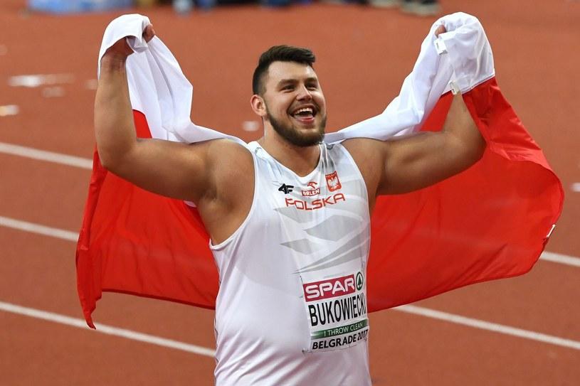 Konrad Bukowiecki zapowiedział udział w mistrzostwach w Bydgoszczy /AFP