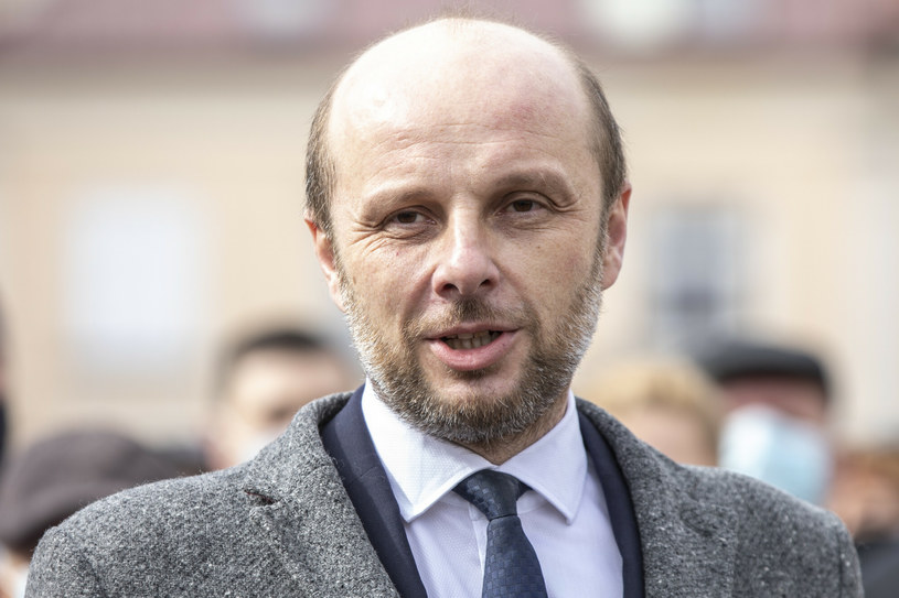 Konrad Fijołek jest kandydatem opozycji na prezydenta Rzeszowa /Grzegorz Bukała /Reporter