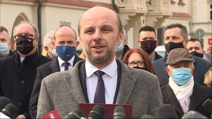 Konrad Fijołek /Polsat News