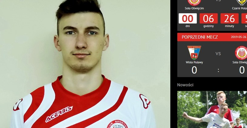 Konrad Kasolik. Fot. solaoswiecim.pl /Informacja prasowa