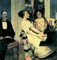 Konrad Krzyżanowski, Przy fortepianie, 1904 /Encyklopedia Internautica