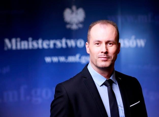 Konrad Raczkowski, b. wiceminister finansów /Informacja prasowa