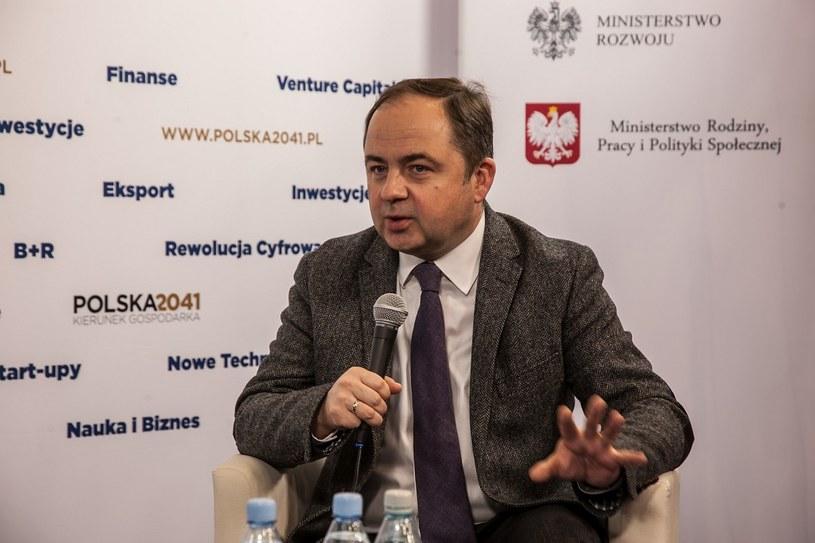 Konrad Szymański, wiceminister spraw zagranicznych RP /Ireneusz Rek /INTERIA.PL