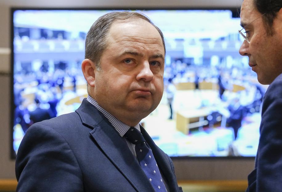 Konrad Szymański /OLIVIER HOSLET /PAP/EPA