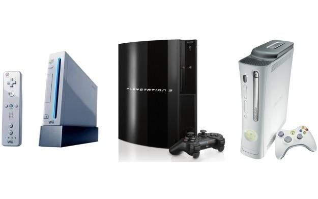 Konsole aktualnej generacji: Nintendo Wii, Sony PlayStation 3, Microsoft Xbox 360 /Informacja prasowa