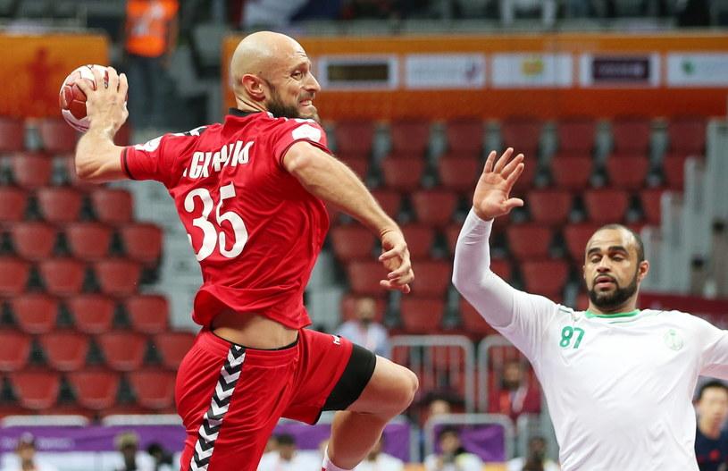 Konstantin Igropulo w meczu z Arabią Saudyjską /PAP/EPA