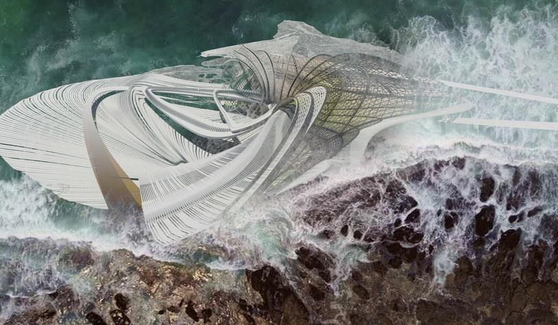 Konstrukcja będzie miała bardzo futurystyczny kształt /Ferrari Press /East News