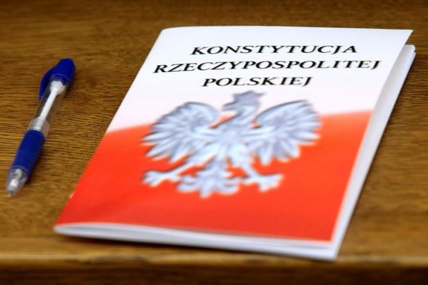 Konstytucja RP /Leszek Szymański /PAP