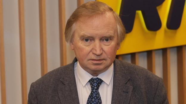 Konstytucjonalista, prof. Ryszard Piotrowski /Piotr Szydłowski /RMF FM
