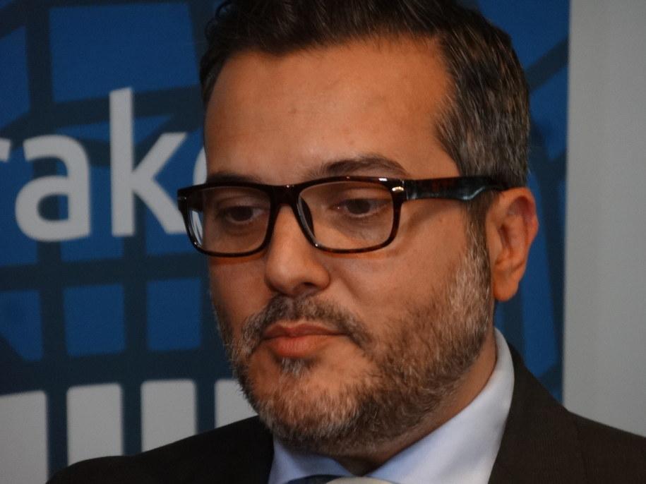 Konsul Generalny USA w Krakowie  B. Bix Aliu /Grzegorz Jasiński /RMF FM