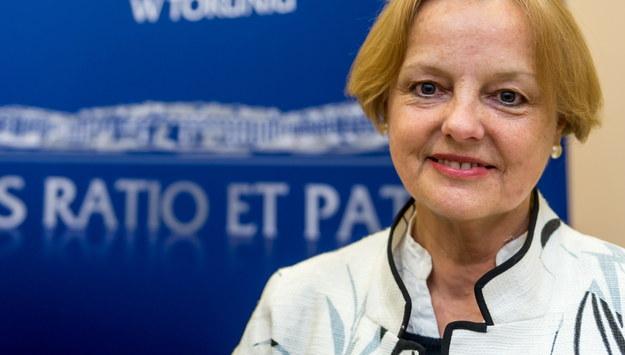 Konsul honorowy RP w Akron, Maria Szonert-Binienda /Tytus Żmijewski /PAP