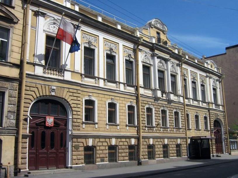 Konsulat Generalny RP w Sankt Petersburgu /Laski Diffusion /East News