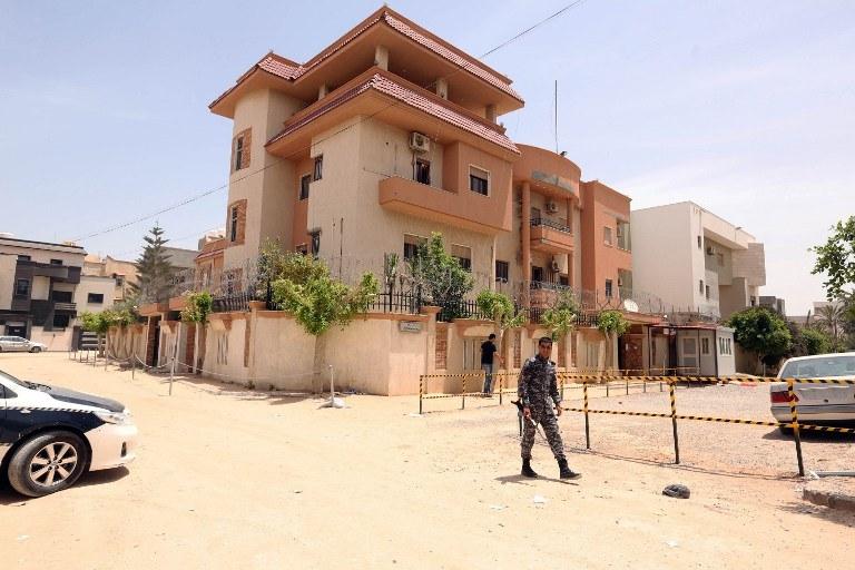 Konsulat Tunezji w stolicy Libii Trypolisie /AFP