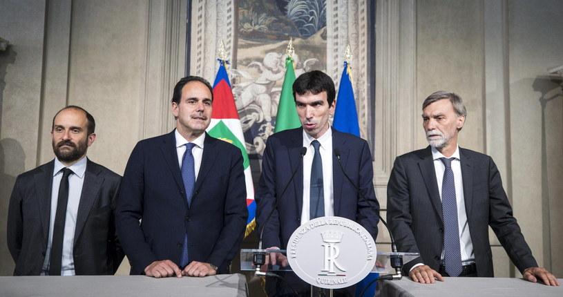Konsultacje władz politycznych we Włoszech /ANGELO CARCONI /PAP