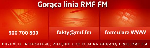 Kontakt na Gorącą Linię RMF FM. /RMF