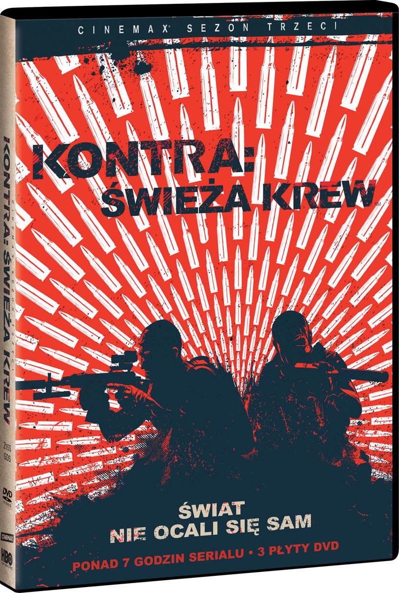 """""""Kontra: Świeża krew"""" na DVD /materiały dystrybutora"""