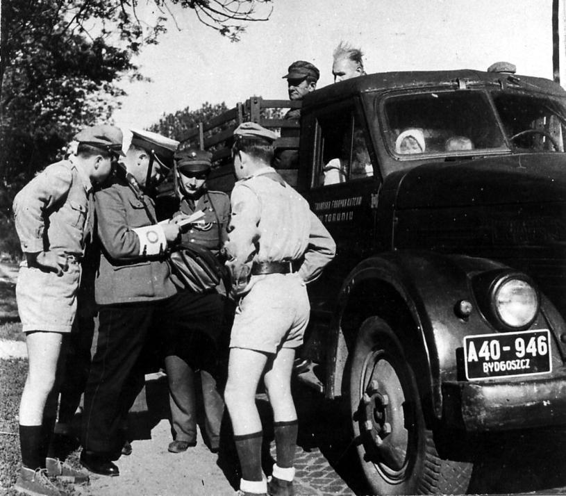 Kontrola drogowa /Policja