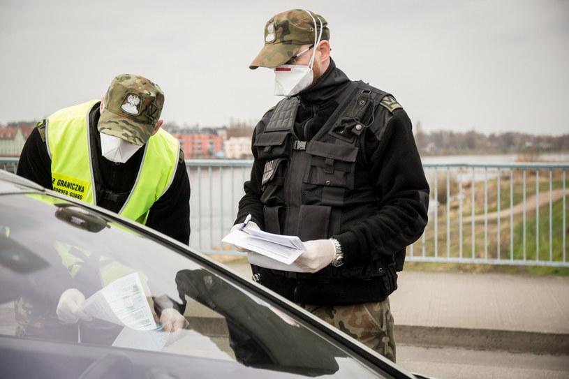 Kontrola na granicy w Słubicach /Marek M. Berezowski /Reporter