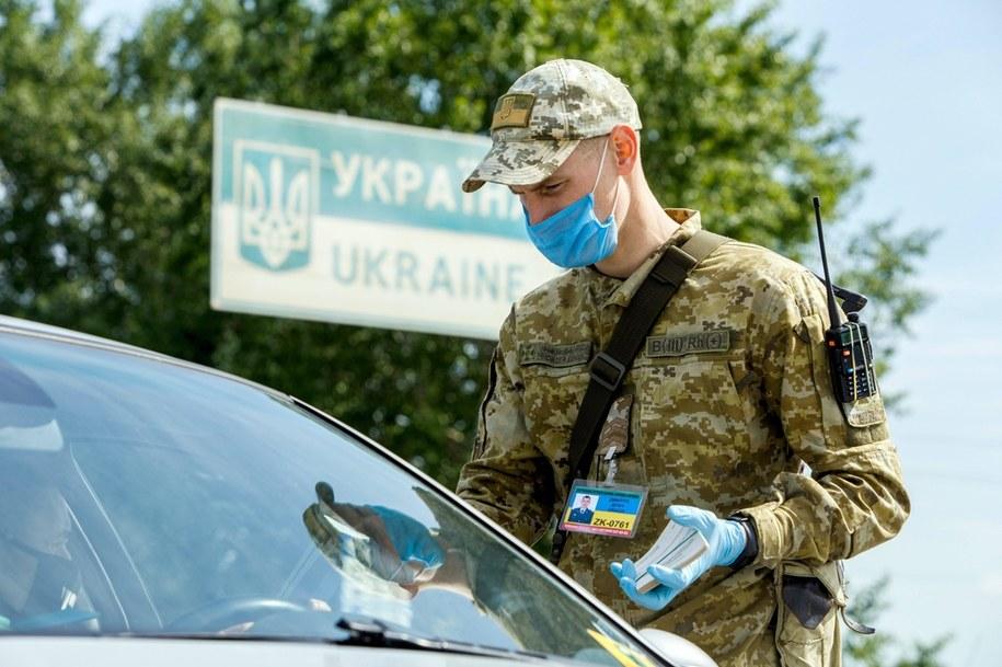 Kontrola na granicy węgiersko-ukraińskiej /UKRINFORM    /PAP/EPA