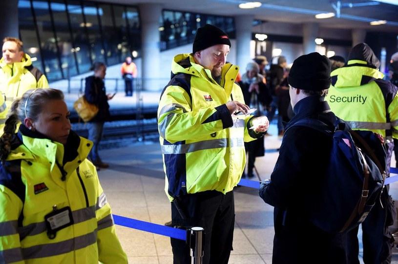 Kontrola na lotnisku Kastrup, zdjęcie ilustracyjne /AFP