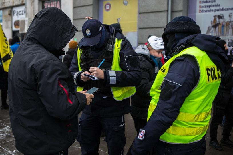 Kontrola policji /Adam Burakowski/REPORTER /East News