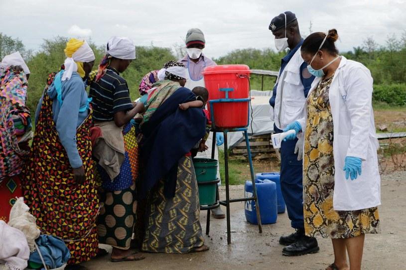Kontrola sanitarna na granicy Konga z Burundi /AFP /AFP