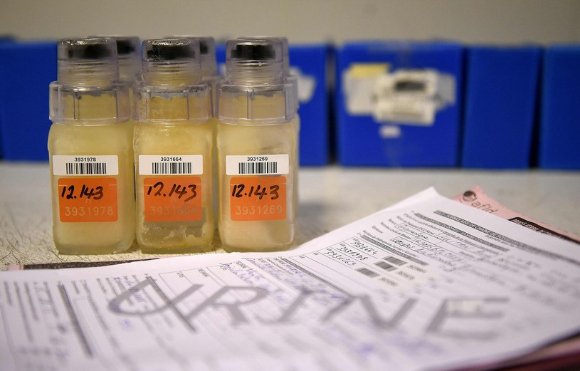 Kontrole antydopingowe na IO w Tokio /AFP