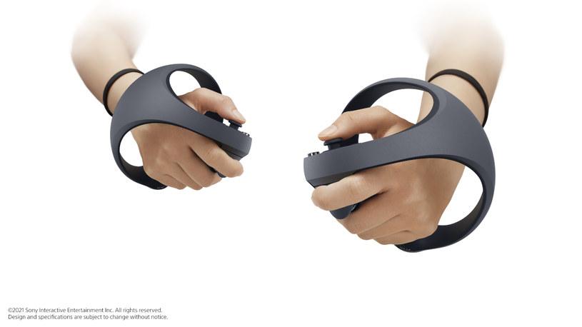 Kontroler VR dla PlayStation 5 /materiały prasowe