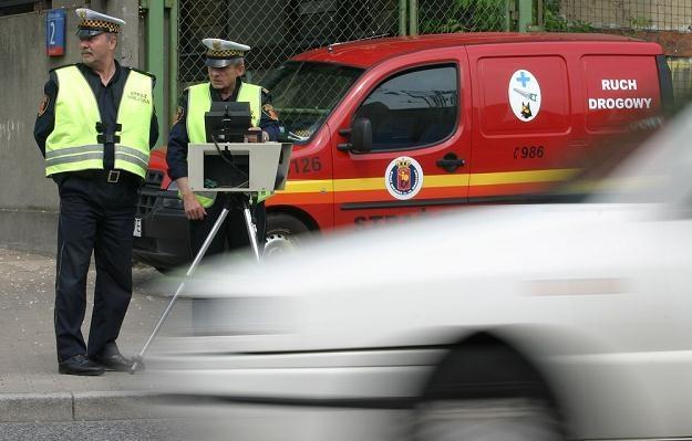 Kontrolowanie prędkości to ulubione zajęcie strażników / fot. Stefan Maszewski /Reporter