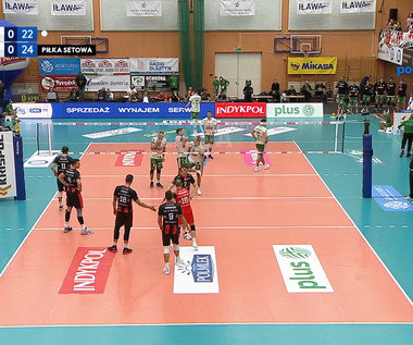Kontrowersja w meczu Indykpol AZS – Asseco Resovia. WIDEO (Polsat Sport)