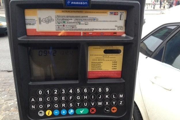 Kontrowersyjny parkomat /RMF