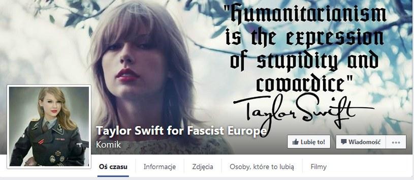 Kontrowersyjny profil dot. Taylor Swift /