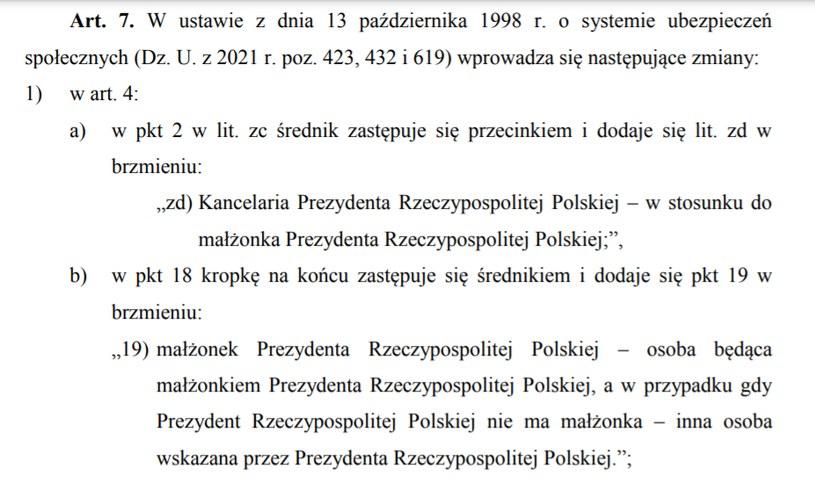 Kontrowersyjny zapis ustawy procedowanej w Senacie /senat.gov.pl /INTERIA.PL
