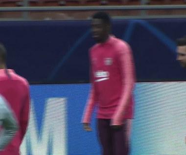Kontuzjowany Messi już trenuje. Wideo
