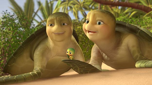 Kontynuacja przygód żółwika Sammy'ego trafi do kin już 5 paźziernika. /materiały dystrybutora