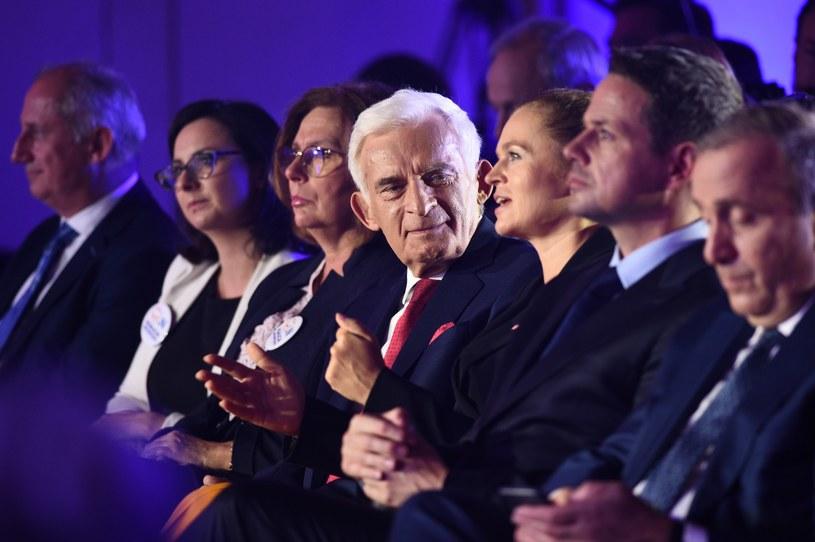 Konwencja KKW Koalicji Obywatelskiej Platforma i Nowoczesna /Zbyszek Kaczmarek /Reporter