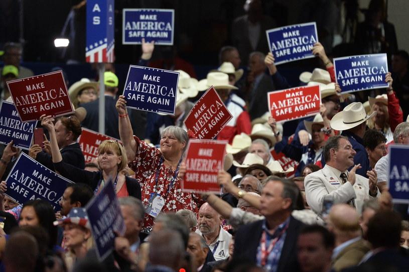 Konwencja Partii Republikańskiej /AFP