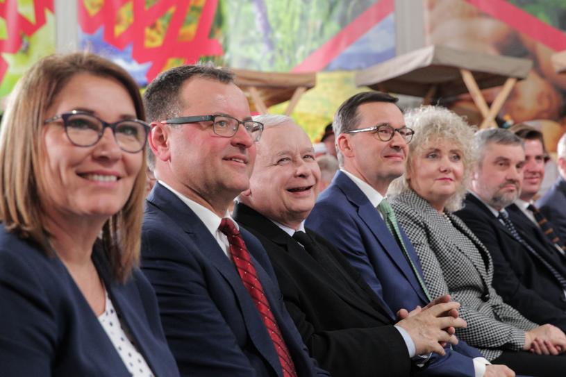 Konwencja PiS w Kadzidle /Tomasz Waszczuk /PAP