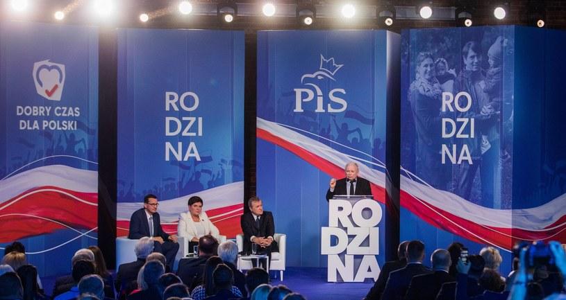 Konwencja PiS w Łodzi /Tomasz Jastrzebowski/REPORTER /Reporter