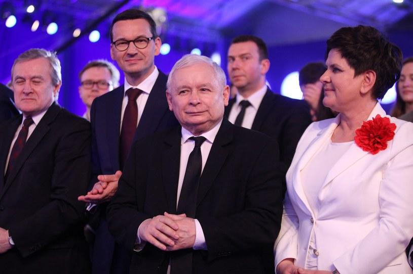 Konwencja Prawa i Sprawiedliwosci - Polska Jest Jedna /Stefan Maszewski /Reporter
