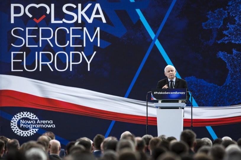 Konwencja regionalna PiS /Grzegorz Bukała /Reporter